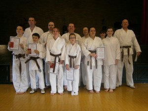 grading comp news bushi karate association